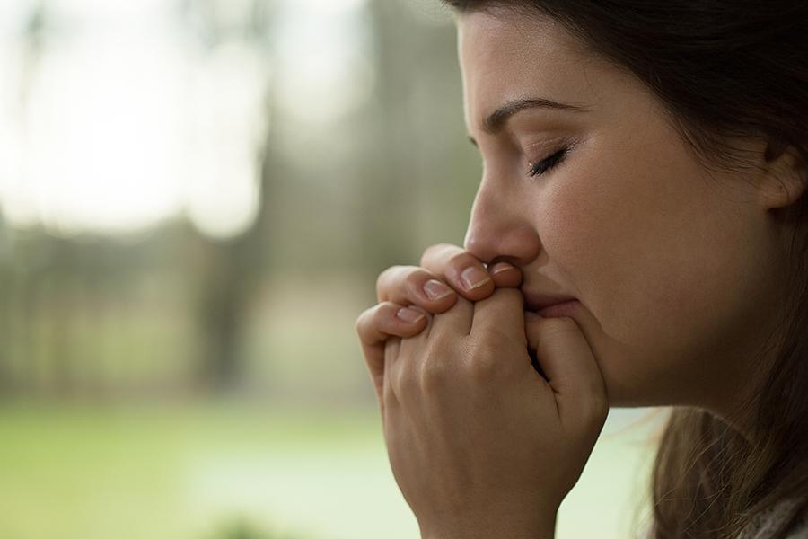 Widow Grieving
